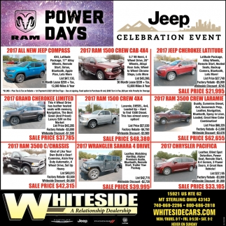 RAM Power Days / Jeep Celebration Event