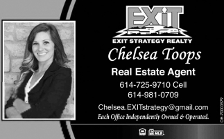 Chelsea Toops, Real Estate Agent