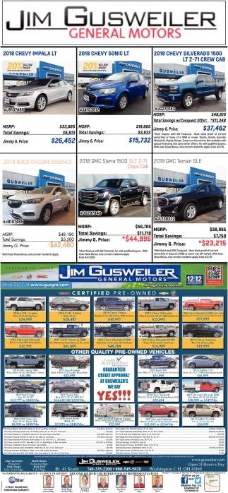 Jim Gusweiler General Motors