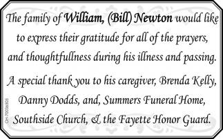 William Bill Newton