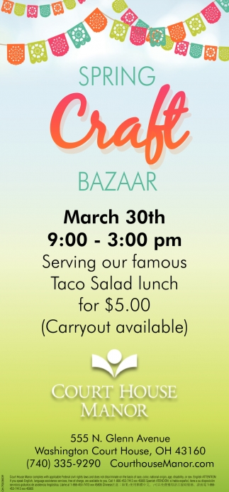 Spring Craft Bazaar