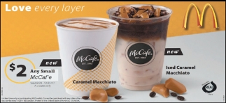$2 Any Small McCaf'e