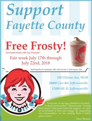 Free Frosty