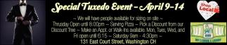 Special Tuxedo Event
