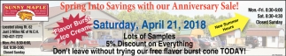 Spring Into Savings with our Anniversary Sale!