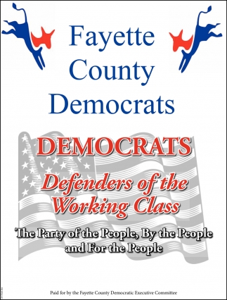 Democrats Defenders of the Working Class