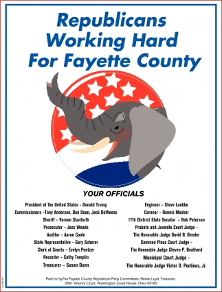 Republicans Working Hard For Fayette Conty