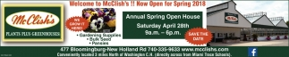 Annual Spring Open House