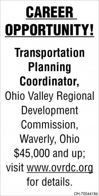 Transportation, Planning, Coordinator