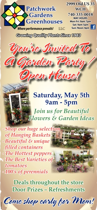 Garden Party Open House